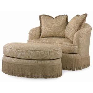 Century Home Elegance - Portico Swivel Chair