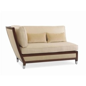 Metropolitan LEFT SECTIONAL CHAIR  Teak