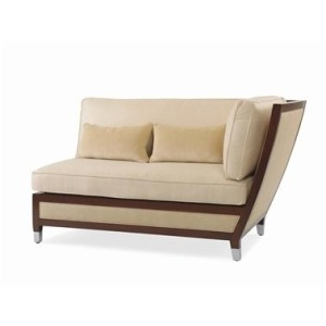 Metropolitan RIGHT SECTIONAL CHAIR  Teak