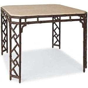 Orient DINING TABLE  Powder Coated Aluminum