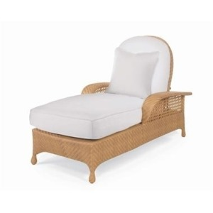 Oscar de la Renta Outdoor ARTICULATING CHAISE  Hularo Chalk White