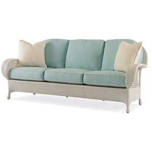 Oscar de la Renta Outdoor SEASIDE SOFA  Hularo Chalk White