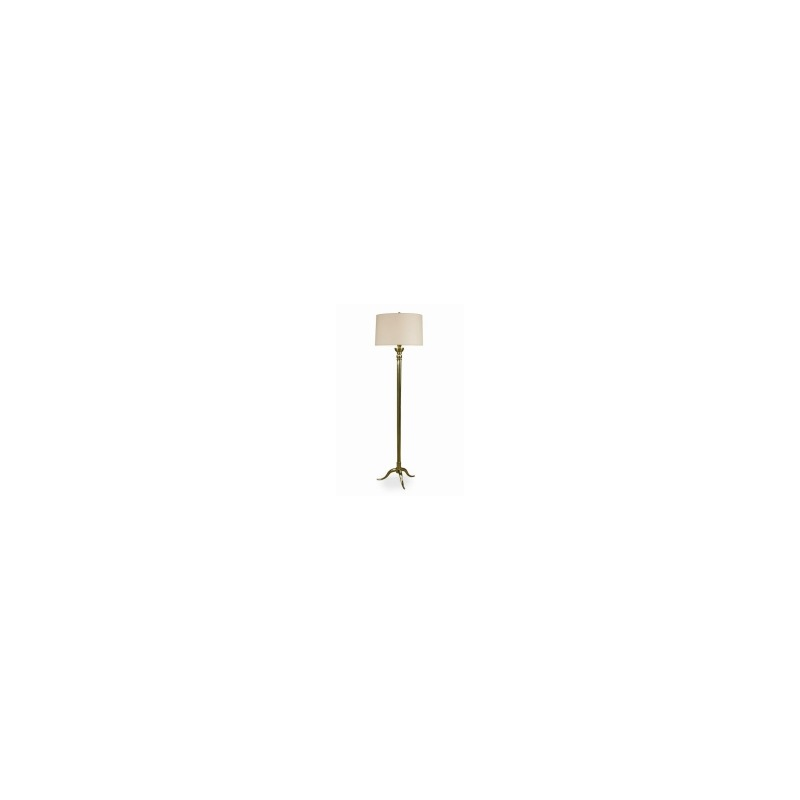 Grand Tour Accessories Marceau Floor Lamp - Antique Brass