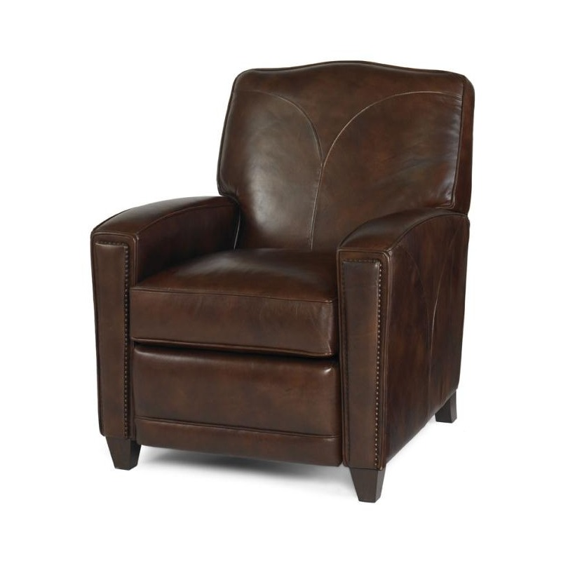 Peachy Century Trading Company Leather Recliner By Century Ibusinesslaw Wood Chair Design Ideas Ibusinesslaworg