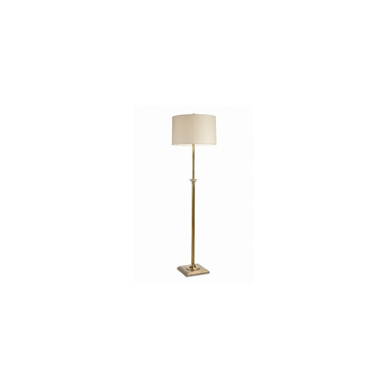 Grand Tour Accessories Regency Floor Lamp - Antique Brass