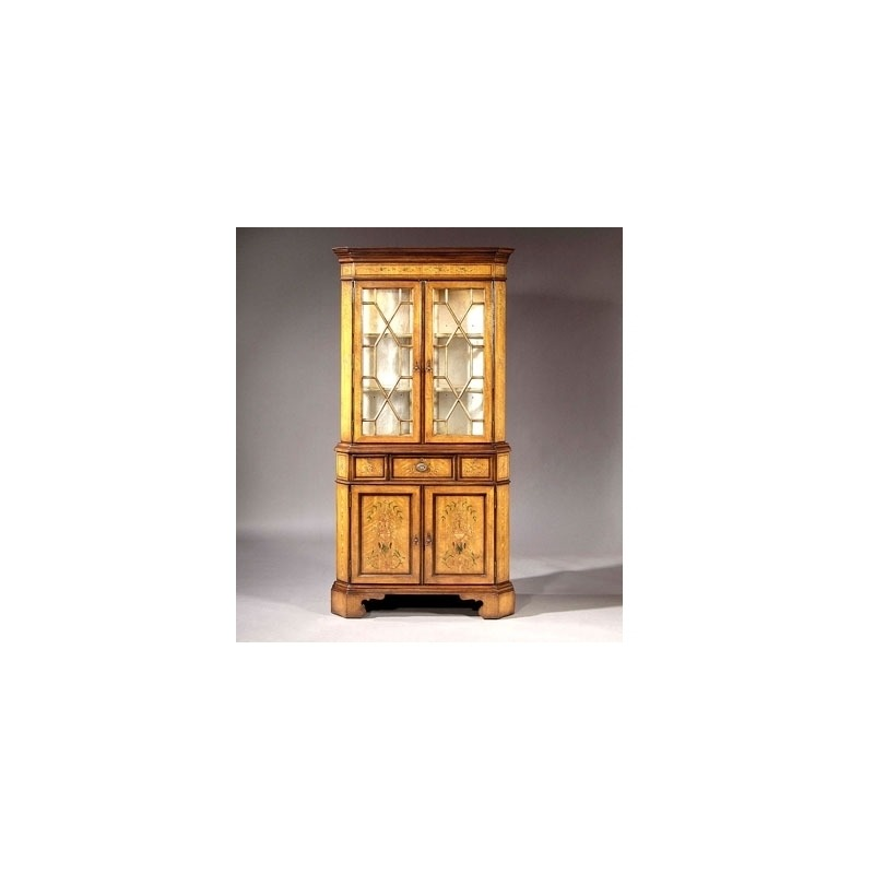 Archive Home and Monarch CORNER DISPLAY CABINET (MN5105)