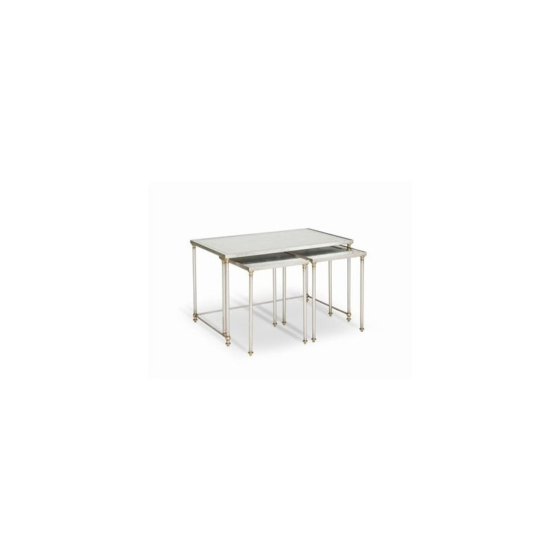 Archive Home and Monarch SHELBY NESTING COCKTAIL TABLES - SET OF THREE (MN5437)