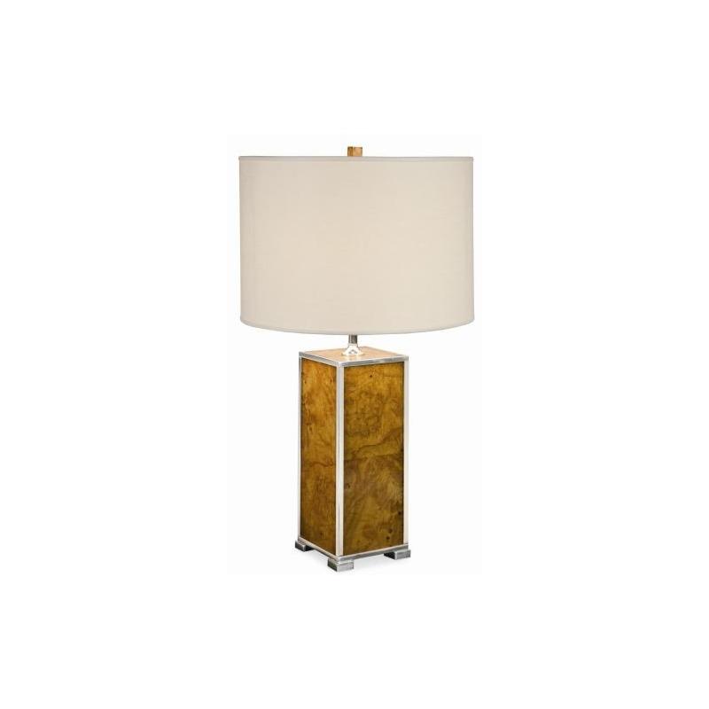 Grand Tour Accessories Michel Olive Ash Burl Table Lamp