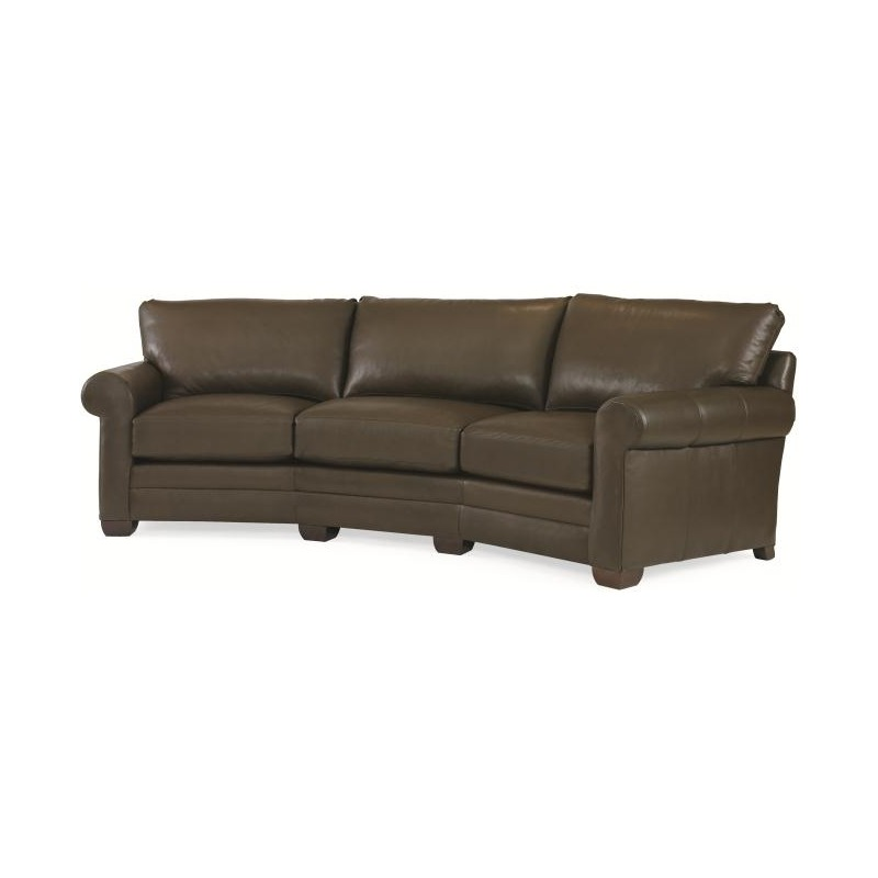 Marvelous Century Leather Leatherstone Wedge Sofa By Century Furniture Andrewgaddart Wooden Chair Designs For Living Room Andrewgaddartcom