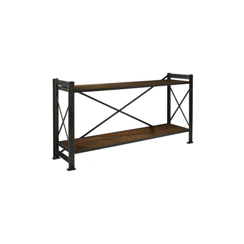 Archive Home and Monarch Sheffield Factory Shelving Console