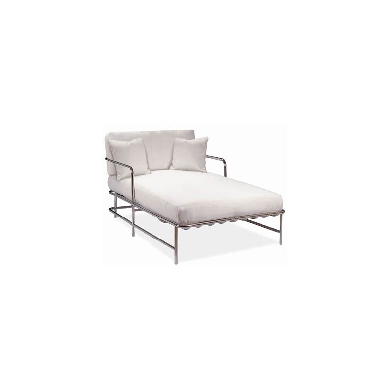 Gulf Stream CHAISE (D17-71-1) Stainless Steel