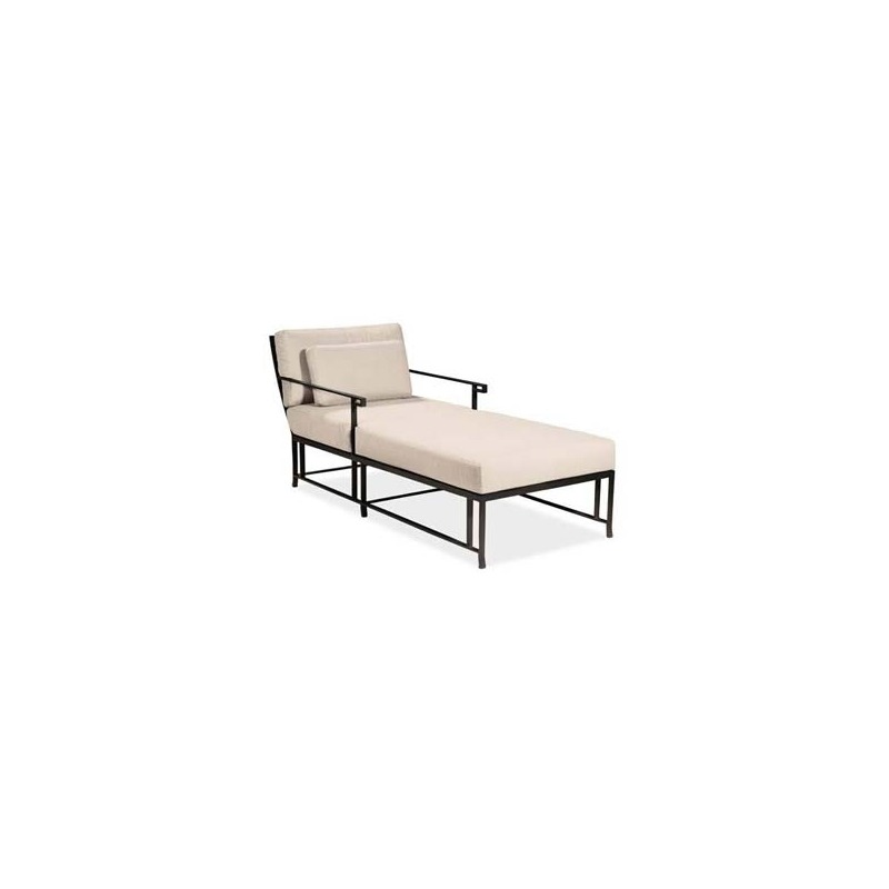 Kyoto SINGLE CHAISE (D18-71-9) Extruded Aluminum