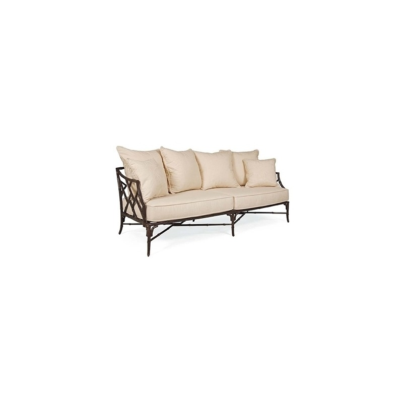 Orient LOVESEAT (D20-42-9)  Powder Coated Aluminum