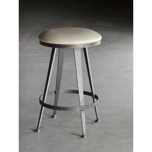 Aries Backless Swivel Counterstool 26""