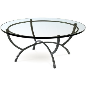 "Hudson 48"" Round Cocktail Table"