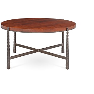 """Nash Large 36"""" Round Cocktail Table"""