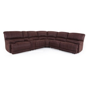 6 PC Reclining Sectional
