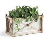 40-0262 Rect Mirror Planter