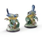 42-0139 Blue Tit Birds-pair