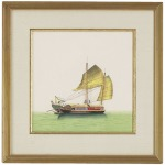 31-0003b Chin.junk Sail-half