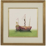 31-0003c Chin.junks-two Sails