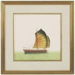 31-0003d Chn Junks-yellw Sail