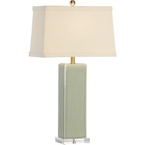 Becker Vase Lamp - Green