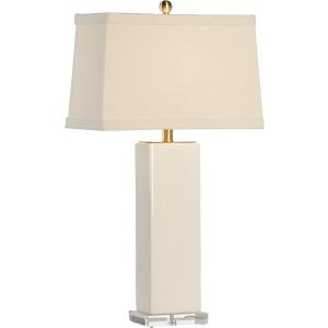 Becker Vase Lamp - Cream