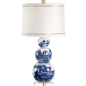 Scenic Blue Lamp Small