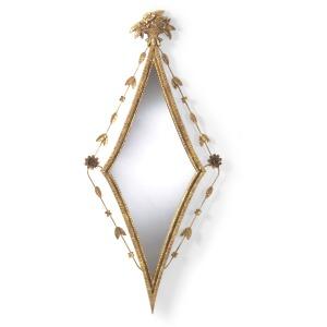 50-0022b Diamond Hall Mirror