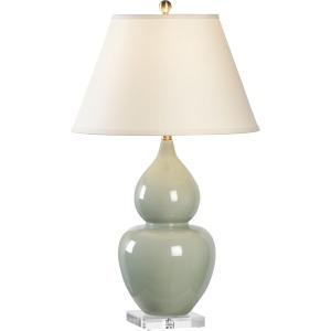 Fulton Vase Lamp - Green