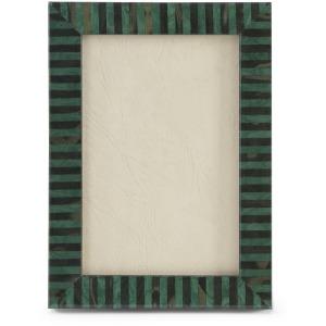 60-0031a Stripe Dk Grn Bk4x 6
