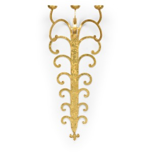 Tall Candle Sconce