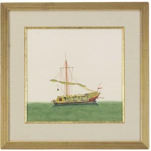 31-0003a Chin Junk-sail Furld