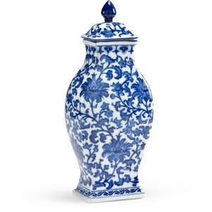 Canton Rectangular Vase