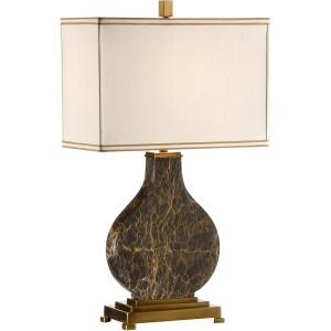 Banjo Stone Lamp