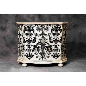 14-0420c Andria Cabinet-cm/bk