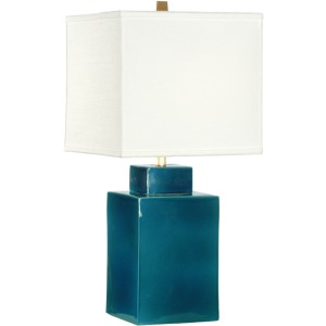 Kowloon Square Blue Lamp