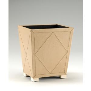 Almond Wastebasket