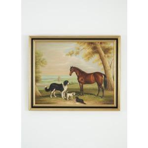 34-0160 Hunter Three Dogs