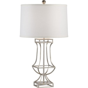 Garrison Lamp - Silver