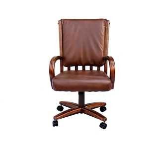 Walnut Bucket Chair