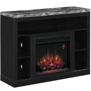 Adams TV Stand & Electric Fireplace