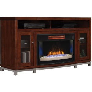 Wesleyan TV Stand & Electric Fireplace Insert
