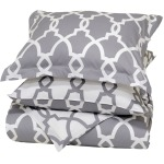 Metro Terrace Duvet Collection - Grey