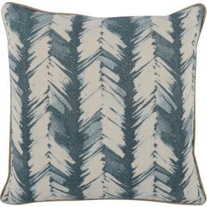 CP Lola Blue 20x20 Throw Pillow