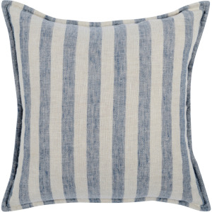 CP Cyprus Ivory/Blue 18x18 Throw Pillow