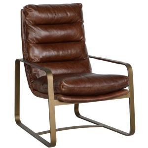 Burton Club Chair Brown