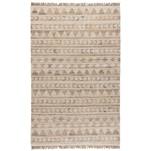 Solana Distressed Ivory Natural Rug 5x8