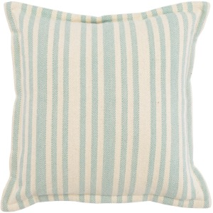 RV Auden Ivory / Blue Surf 20x20 Pillow